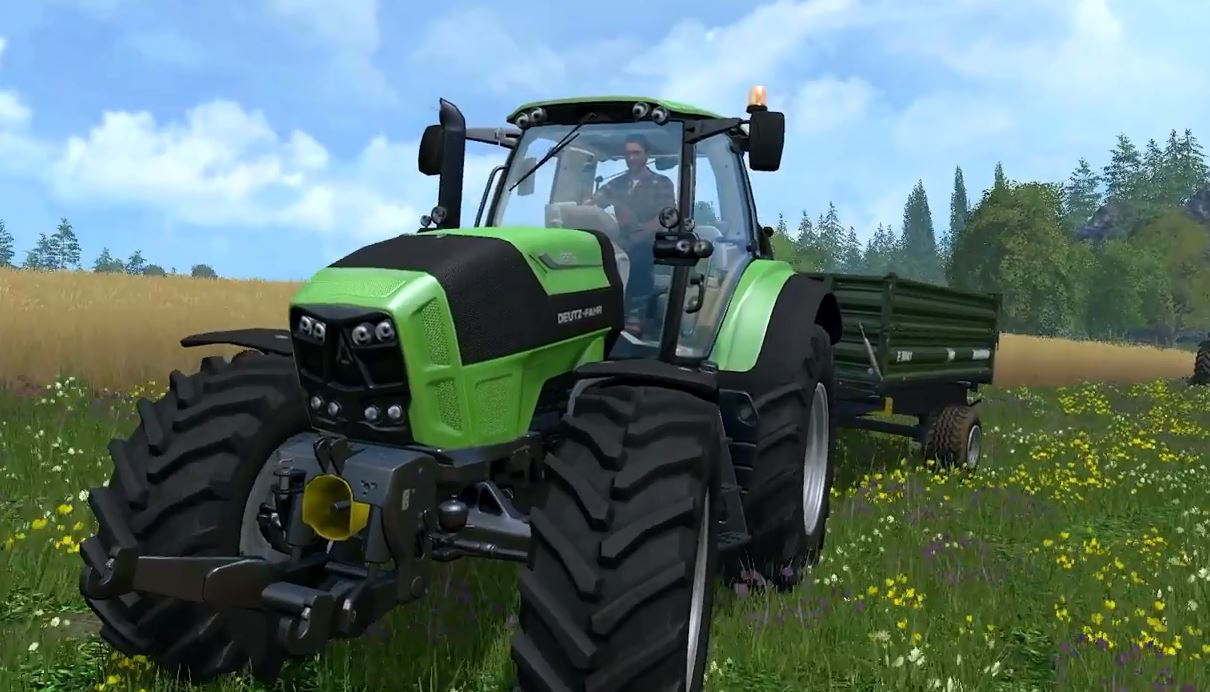FARMING SIMULATOR 15 CONSOLES: GARAGE TRAILER