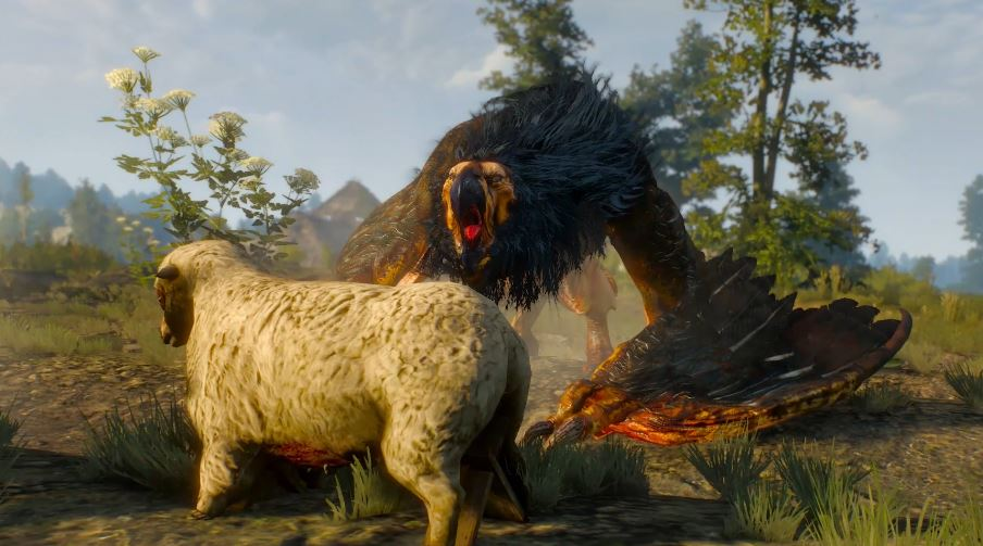 Witcher 3: Wild Hunt   How to kill the Griffin