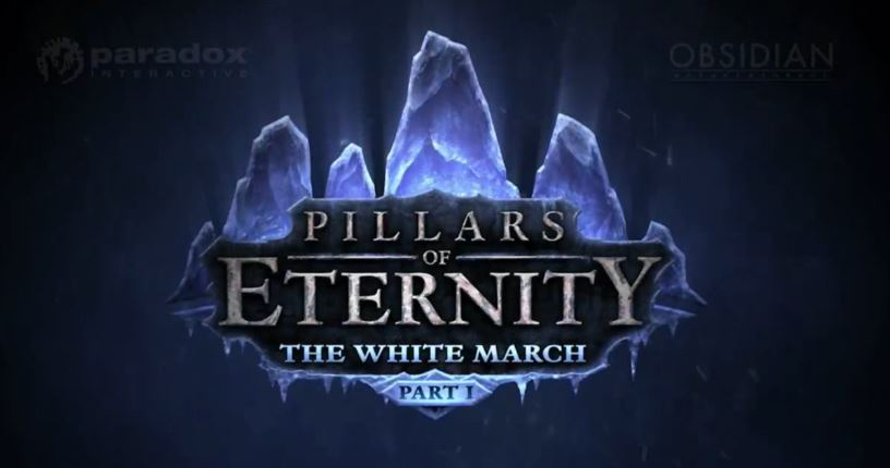 Pillars of Eternity: The White March   Announcement Trailer