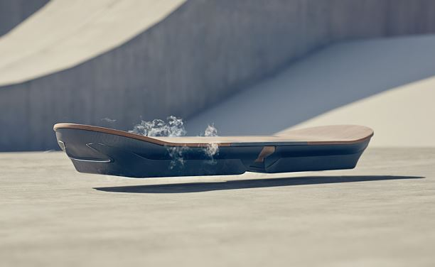 Lexus Slide | Real, rideable hoverboard