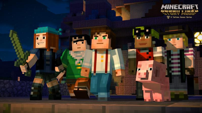 Minecraft: Story Mode Reveal Trailer at Minecon 2015