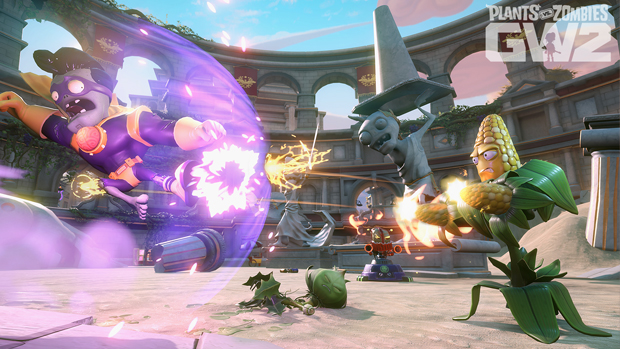 SDCC 2015: Plants vs. Zombies Garden Warfare 2 | Seeds of Time Map Gameplay Reveal
