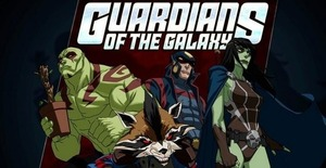 Marvel's Guardians of the Galaxy Animated Series | NYCC Test Footage