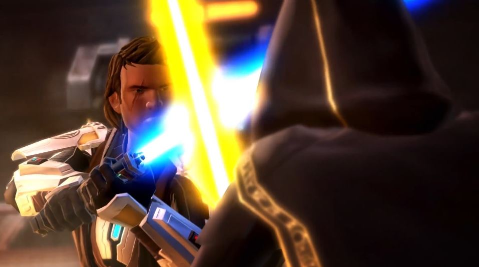 Star Wars: The Old Republic - Knights of the Fallen Empire   'Become the Outlander' Gameplay Trailer