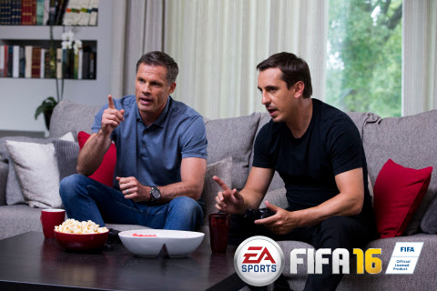 FIFA 16 | Ultimate Team Draft Trailer ft. Gary Neville & Jamie Carragher