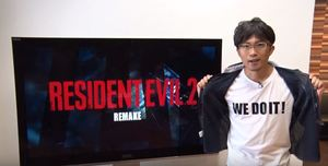 Resident Evil 2 Remake | Special Message from Producer H
