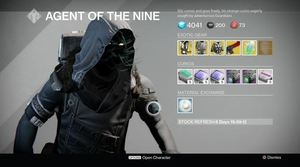 Destiny I Xur, Agent of the Nine, location and exotic items (8/14/15)
