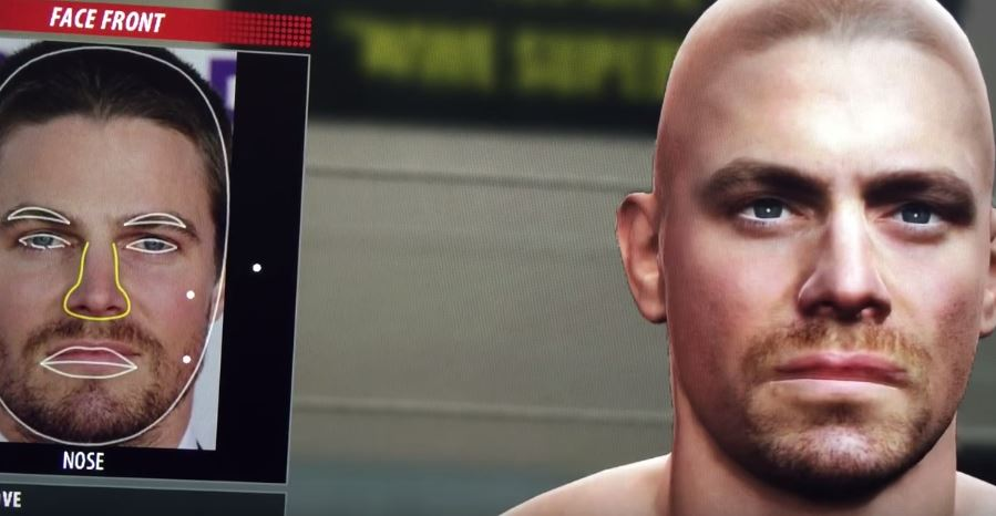 WWE 2K16 | CAS Face Photo Demo