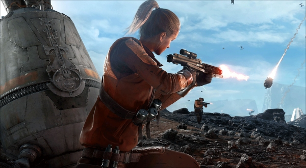 Star Wars Battlefront | Drop Zone Beta Gameplay