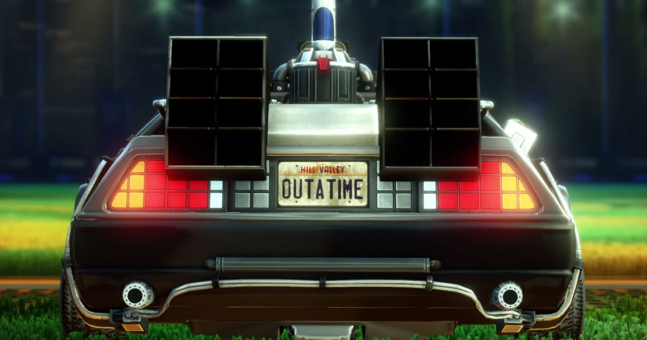 Rocket League | Back to the Future Car Pack Teaser