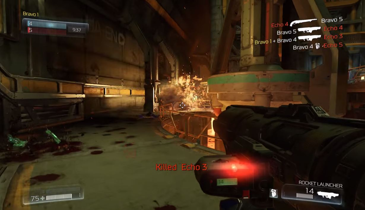 DOOM | Multiplayer Closed Alpha Gameplay Video