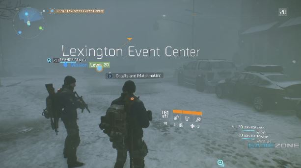 The Division Gameplay | Lexington Event Center Story Mission