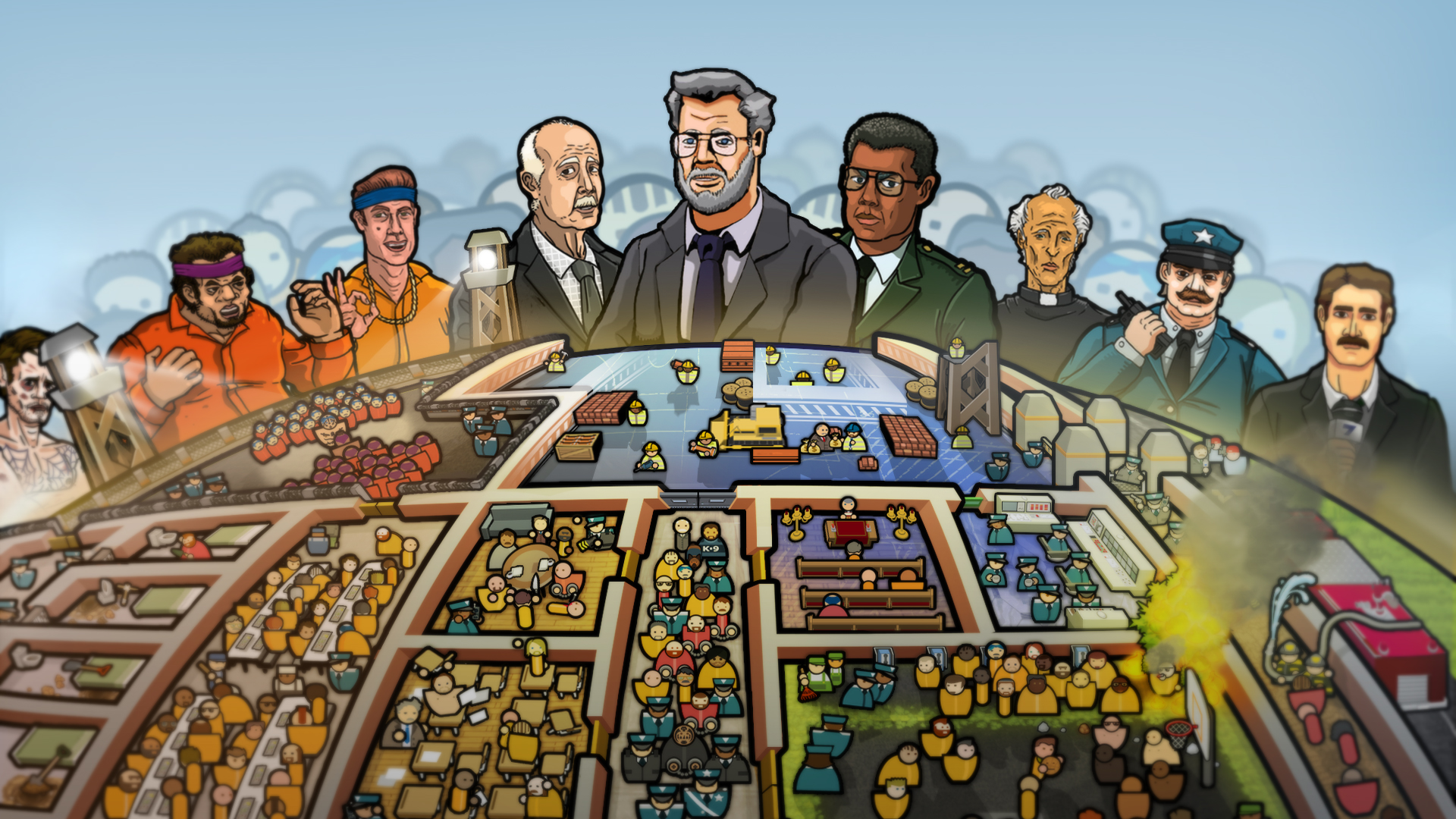 Prison Architect | Coming to Xbox One, Xbox 360 and PlayStation 4