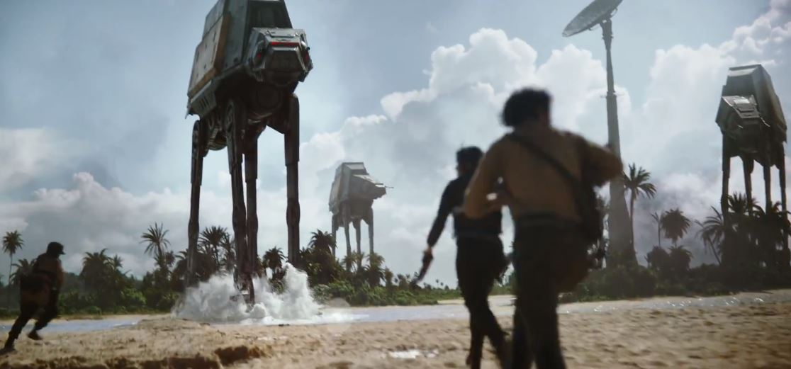 ROGUE ONE: A STAR WARS STORY | Official Teaser Trailer