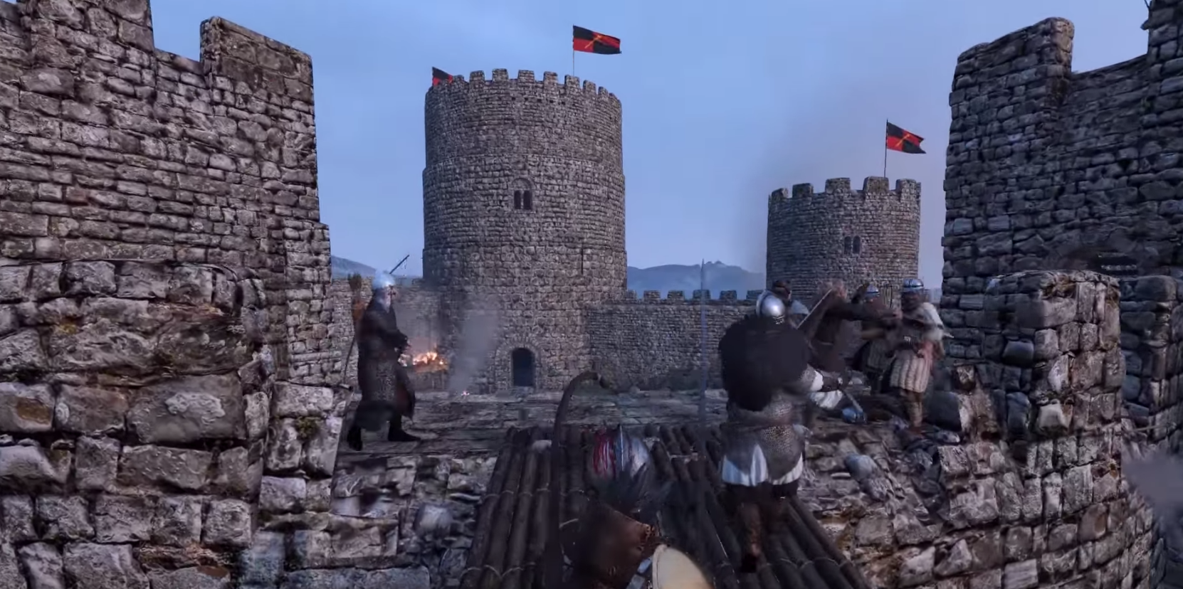 Mount and Blade Siege Gameplay | PC Gaming Show 2016