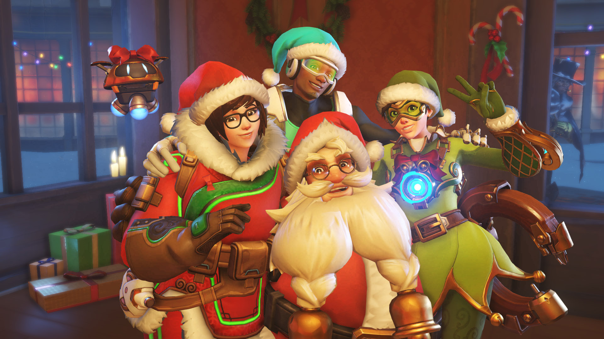 Overwatch Winter Wonderland 2016 Holiday Collection - All Skins, Emotes, Victory Poses and Voice Lines