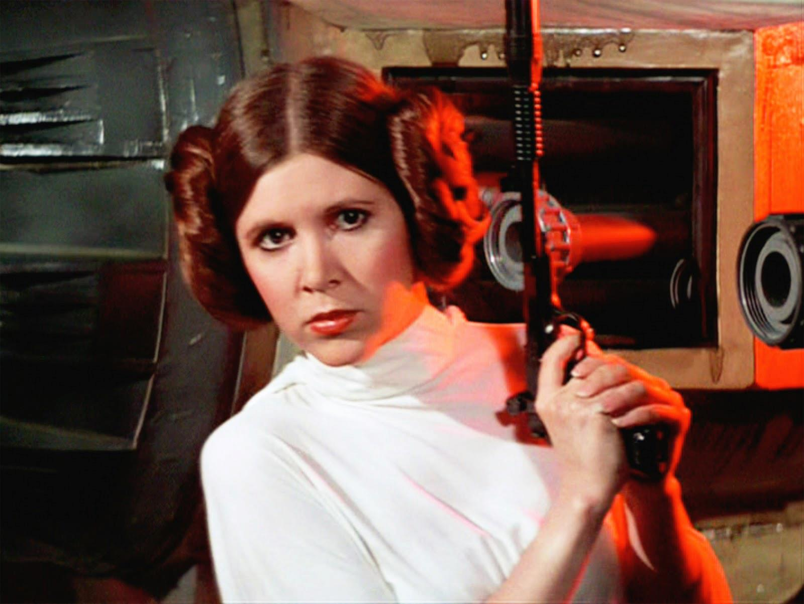 'Star Wars' actress Carrie Fisher dead at age 60