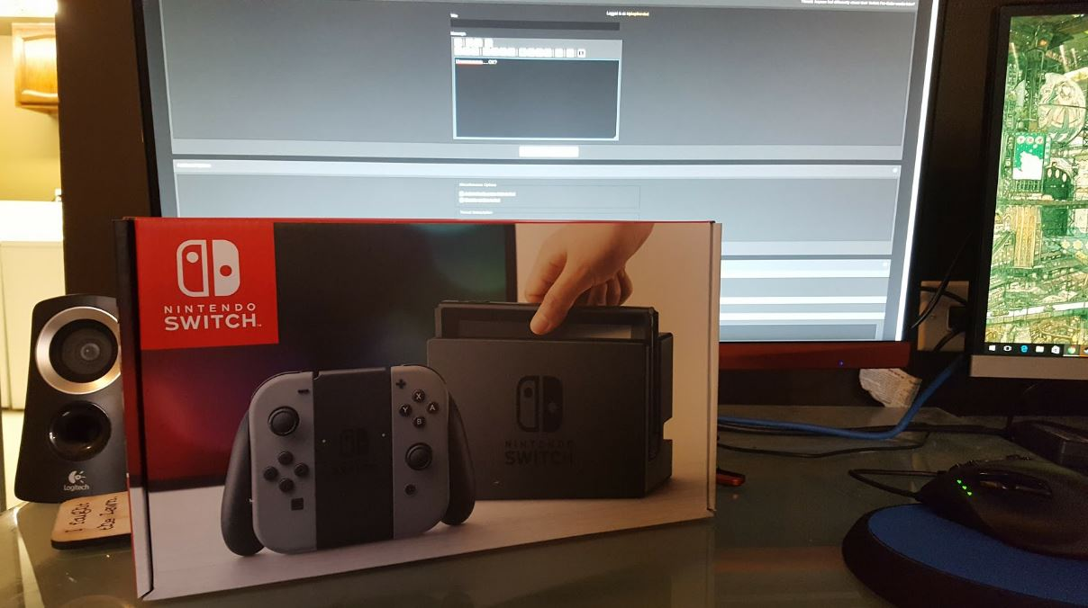 People already have the Nintendo Switch in their possession, watch it in action