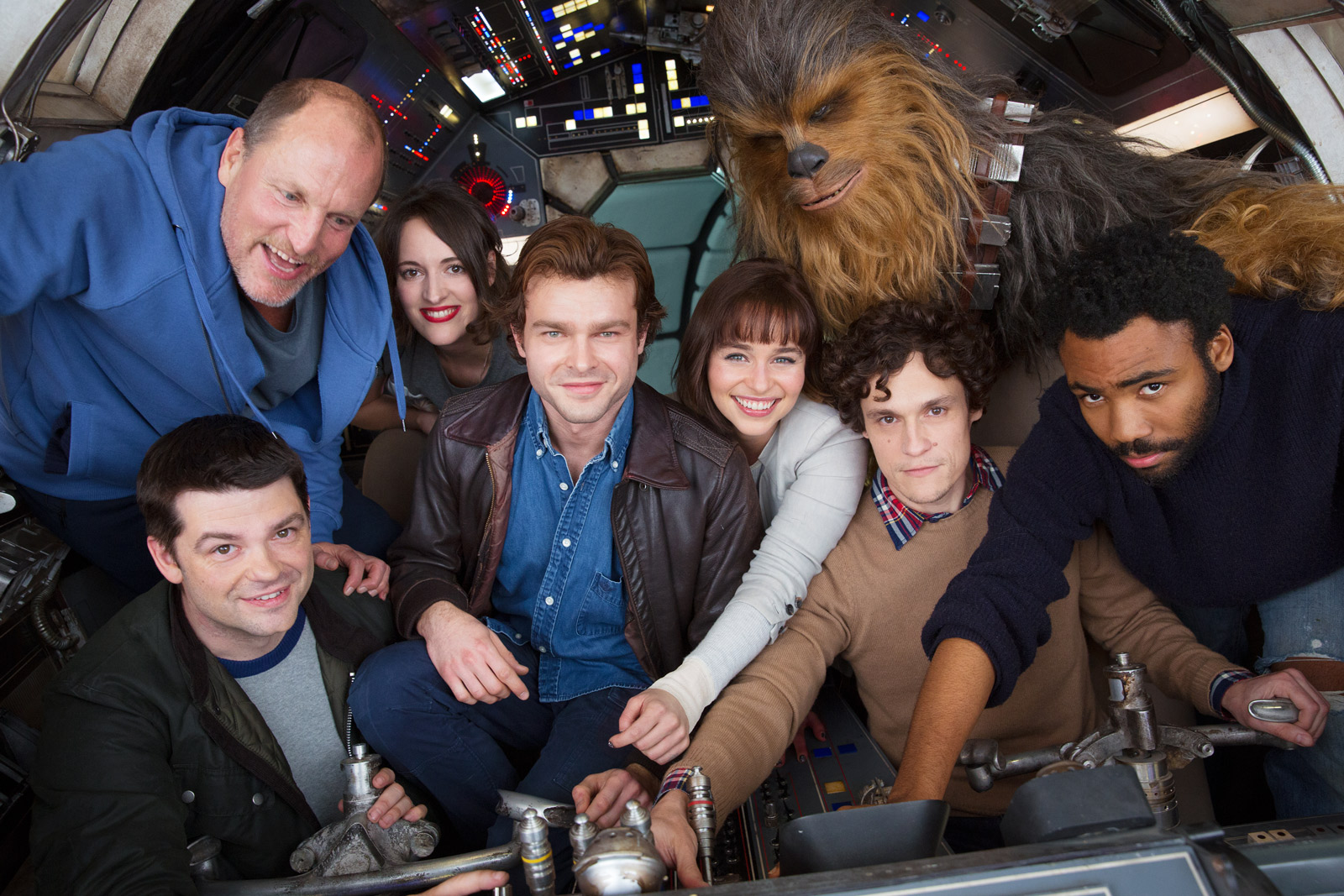 Han Solo Star Wars Story (spinoff movie) begins principal photography