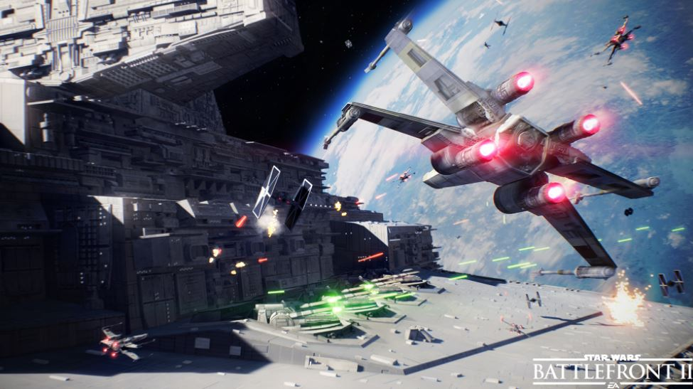 Star Wars Battlefront 2 | Official Starfighter Assault Gameplay Trailer